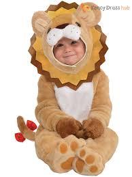 babys toddlers little roar lion animal halloween fancy dress party