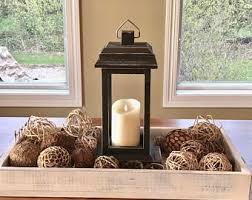 wood lantern etsy