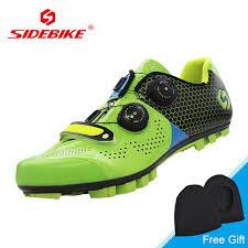 bike riding sneakers sidebike 2018 mtb carbon bike shoes auto lock ultralight cycling