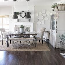 kitchen dining table ideas rustic modern farmhouse with farmhouse table with a wood top and