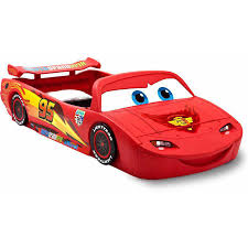 Little Tikes Race Car Bed Bedroom Mcqueen Beds Lightning Mcqueen Toddler Bed Little
