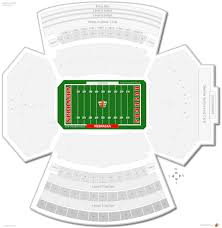 Time Zone Map Nebraska by Memorial Stadium Nebraska Seating Guide Rateyourseats Com
