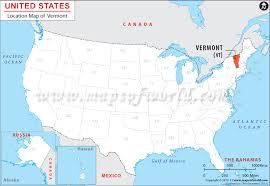 usa map vt where is vermont location of vermont