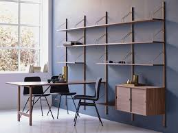 Wall Mounted Shelving Units by Royal System Walnut Shelving Unit By Dk3 Design Poul Cadovius