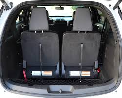 ford explorer trunk space 2013 ford explorer sport rear cargo seats up