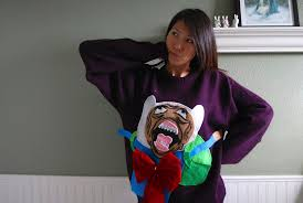 Christmas Sweater Meme - make your own adventure time rage face ugly christmas sweater