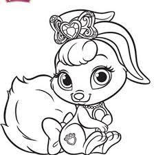 princess palace pets coloring pages kids n fun 36 coloring pages