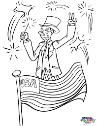 independence day u2013 coloring pages u2013 original coloring pages