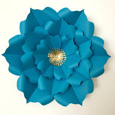 Home Design By Annie Pdf Paper Flower Template Digital Version With Base Original