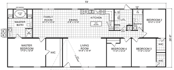 4 Bedroom 2 Bath Mobile Homes Quinton 28 X 72 1920 Sqft Mobile Home Factory Expo Home Centers