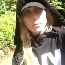 long hair lady lady gaga defends young from bullying with instagram psa u0027be