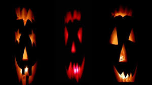 creative food art ideas 3 faces halloween pumpkin carving fun