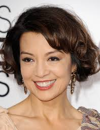 short hairstyle angled away from face best bob for your face shape celebrity bob hairstyle