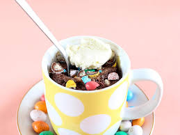 malted easter eggs malted chocolate mug cake with m m easter eggs loveswah