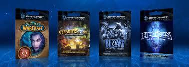 battlenet prepaid card blizzard gift card