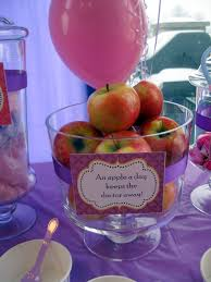 Doc Mcstuffins Home Decor by Doc Mcstuffins Birthday Party Table Decor An Apple A Day Keeps