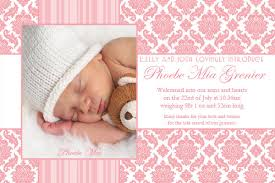 thank you cards baby templates ideas anouk invitations