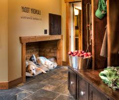 rustic entryway ideas entry rustic with pet friendly dog beds and