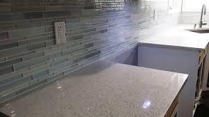 installing tile backsplash kitchen diy mosaic glass tile backsplash installation zero experience