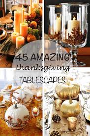 47 fabulous diy ideas for thanksgiving table decor barbara