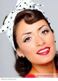 hair and makeup vintage 1950s makeup pinteres