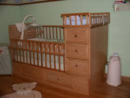 Crib Dresser Changing Table Combo Baby Crib With Dresser Drawers Changing Table For My