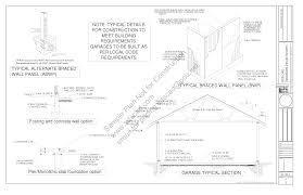 g448 24 u0027 x 20 u0027 x 8 u0027 free pdf garage plans blueprints construction