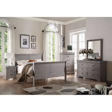 art van 6 piece queen bedroom set overstock shopping big louis philippe iii antique grey wooden bed