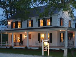 Farmhouse With Wrap Around Porch 56 Best Colonial House Ideas Images On Pinterest The Porch