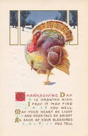 nothing but limericks thanksgiving day turkey limerick poem postcard