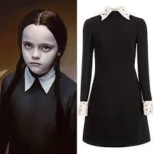 Wednesday Addams Costume Wednesday Addams Dress Google Søk Hallowe U0027en Pinterest