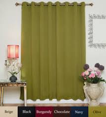 100 Inch Blackout Curtains Nickel Grommet Top Energy Saving Thermal Insulated Blackout