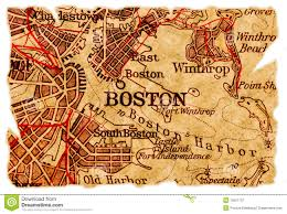 Map Copley Square Boston by Boston Old Map Royalty Free Stock Photography Image 15657737