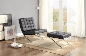 Barcelona Chair Interior Barcelona Chair Replica Best Stainless Steel Frame Legs Of
