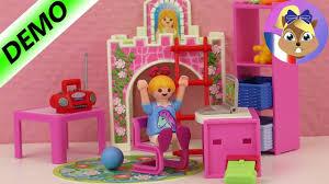 chambre enfant playmobil chambre playmobil pour enfant a une nouvelle chambre lit