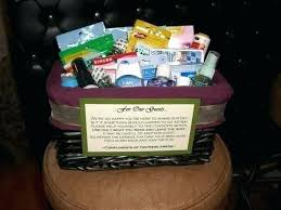 bridal shower gift basket ideas bridal bathroom basket bridal shower basket idea wrapped in tulle