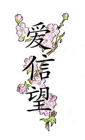 faith chinese tattoo design photo 3 photo pictures and