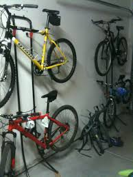 bike storage in garage