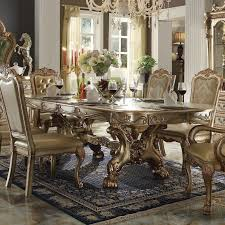 gold dining table set dresden dining room set gold patina formal dining sets gold dining