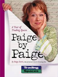 trading spaces host paige by paige a year of trading spaces meredith r press