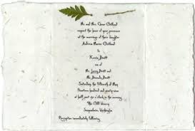 handmade invitations invitations handmade for weddings seed paper pressed flowers