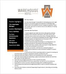 11 sales manager job description templates u2013 free sample example