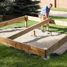 How To Make A Wooden Patio Building And Setting Deck Posts And Footings Gardening