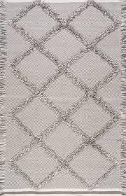 dolcinacn01 embossed frayed diamond trellis rug trellis rug
