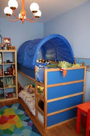 IKEA Kura Bunk Bed Curtains Hack Recipe For Curtain Sizing On - Ikea bunk bed kids