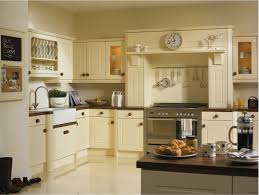 white cream and ivory kitchen cupboards vanilla in newport style fitted kitchen