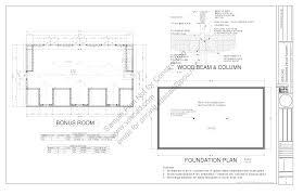 home plans with detached garage floor plan with bonus room sensational g445 plans 48x28 x detached