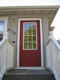 Red Front Doors Behr Forbidden Red Front Doors Pinterest Behr Front Doors