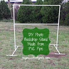 wedding backdrop using pvc pipe pawsitively pets diy photo backdrop stand for pets mimis 90th