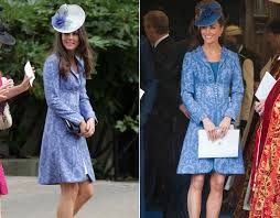 kate wore this paisley patterned thrifty kate middleton wears